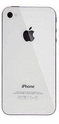 iPhone 4,4s Καπάκι πίσω Λευκό 12€..
