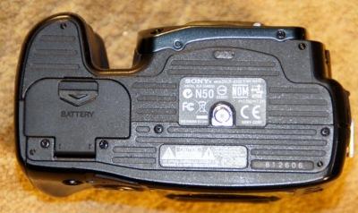 SONY A100 DSLR