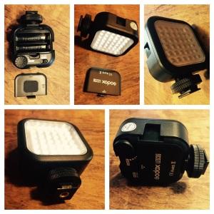 GoPro.Προβολέας για νυκτερινή λήψη 36 LED